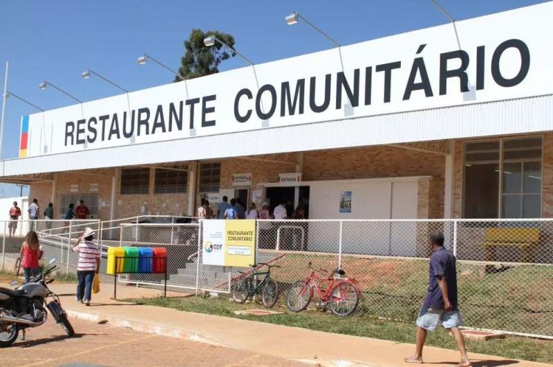 Almoço gratuito para beneficiários do auxílio emergencial