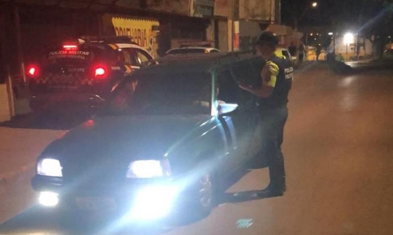PM autua 90 motoristas embriagados em operações em São Sebastião e Ceilândia