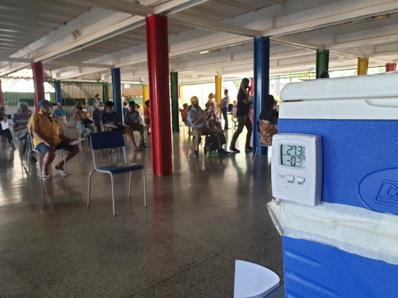 Começa a vacinação contra o coronavírus em São Sebastião